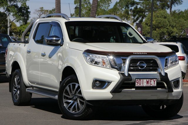 Used Nissan Navara D23 ST-X, 2015 Nissan Navara D23 ST-X White 7 Speed Sports Automatic Utility