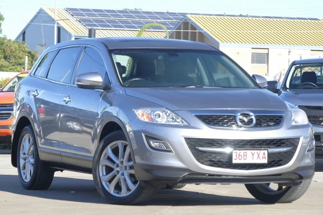 Used Mazda CX-9 TB10A3 MY10 Luxury, 2010 Mazda CX-9 TB10A3 MY10 Luxury Aluminium 6 Speed Sports Automatic Wagon