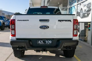 2019 Ford Ranger PX MkIII 2019.00MY Raptor Pick-up Double Cab White 10 Speed Sports Automatic