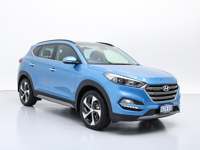 Demo Hyundai Tucson TLE2 MY18 Highlander R-Series (AWD), 2018 Hyundai Tucson TLE2 MY18 Highlander R-Series (AWD) Blue 6 Speed Automatic Wagon