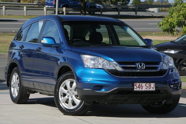 Used Honda CR-V RE MY2011 4WD, 2011 Honda CR-V RE MY2011 4WD Dyno Blue/grey Cloth 6 Speed Manual Wagon