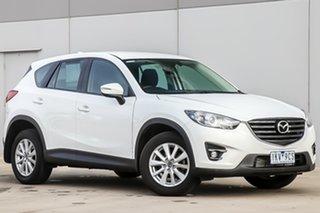 2015 Mazda CX-5 KE1022 Maxx SKYACTIV-Drive AWD Sport Crystal White Pearl 6 Speed Sports Automatic.