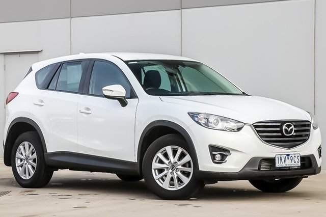 Used Mazda CX-5 KE1022 Maxx SKYACTIV-Drive AWD Sport, 2015 Mazda CX-5 KE1022 Maxx SKYACTIV-Drive AWD Sport Crystal White Pearl 6 Speed Sports Automatic