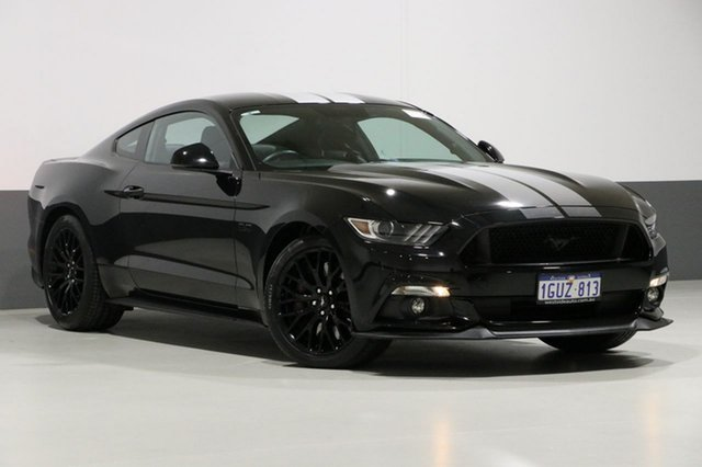 Used Ford Mustang FM MY17 Fastback GT 5.0 V8, 2016 Ford Mustang FM MY17 Fastback GT 5.0 V8 Black 6 Speed Manual Coupe
