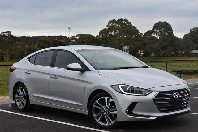 Used Hyundai Elantra AD MY17 Elite, 2015 Hyundai Elantra AD MY17 Elite Silver 6 Speed Sports Automatic Sedan
