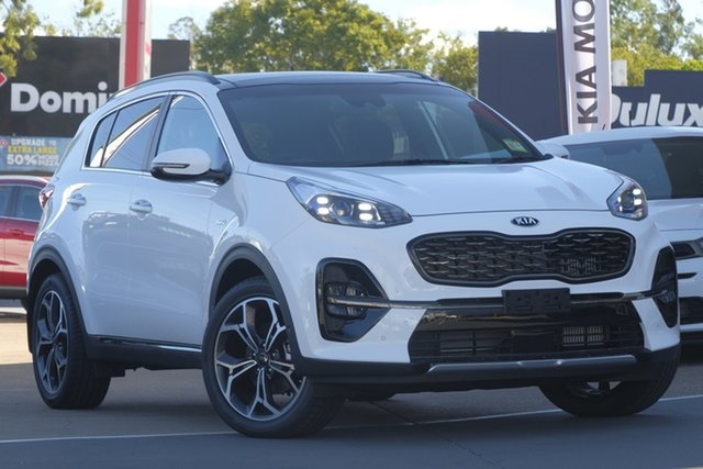 Used Kia Sportage QL MY19 GT-Line AWD, 2018 Kia Sportage QL MY19 GT-Line AWD Clear White 8 Speed Sports Automatic Wagon