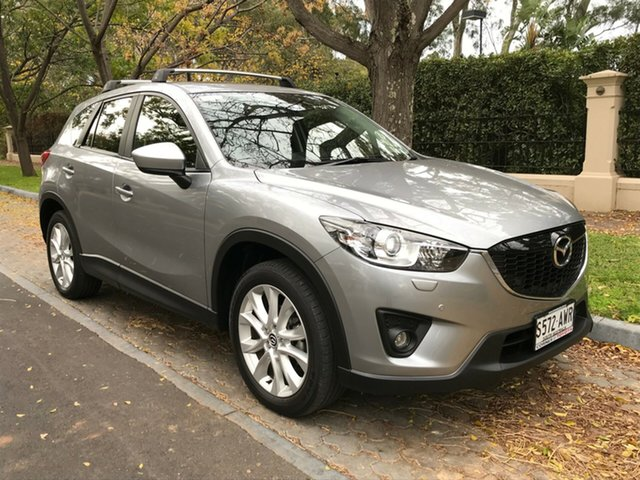 Used Mazda CX-5 KE1031 MY13 Akera SKYACTIV-Drive AWD, 2013 Mazda CX-5 KE1031 MY13 Akera SKYACTIV-Drive AWD Silver 6 Speed Sports Automatic Wagon