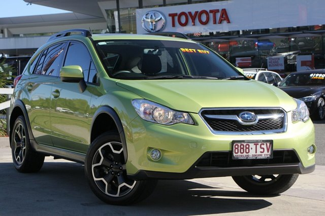 Used Subaru XV G4X MY14 2.0i Lineartronic AWD, 2014 Subaru XV G4X MY14 2.0i Lineartronic AWD Green 6 Speed Constant Variable Wagon