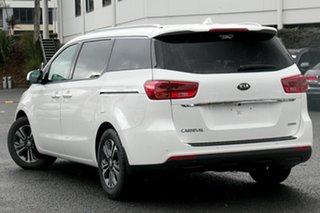 2018 Kia Carnival YP PE MY19 SLi Snow White Pearl 8 Speed Automatic Wagon.