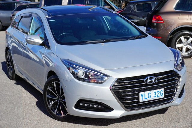 Used Hyundai i40 VF4 Series II Premium Tourer D-CT, 2016 Hyundai i40 VF4 Series II Premium Tourer D-CT Silver 7 Speed Sports Automatic Dual Clutch Wagon