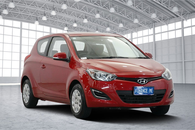 Used Hyundai i20 PB MY15 Active, 2014 Hyundai i20 PB MY15 Active Red Passion 4 Speed Automatic Hatchback