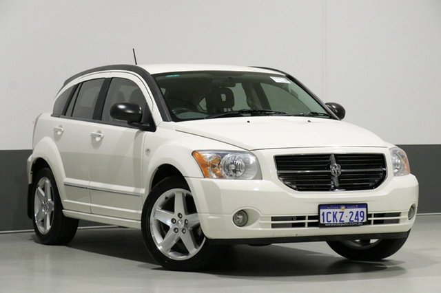 Used Dodge Caliber PM R/T, 2007 Dodge Caliber PM R/T White 5 Speed Manual Hatchback