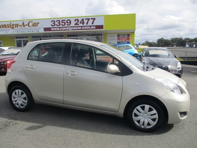 Used Toyota Yaris NCP90R MY10 YR, 2009 Toyota Yaris NCP90R MY10 YR Gold 4 Speed Automatic Hatchback