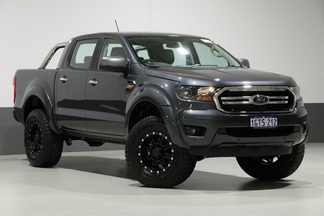 Used Ford Ranger PX MkIII MY19 XLS 3.2 (4x4), 2019 Ford Ranger PX MkIII MY19 XLS 3.2 (4x4) Graphite 6 Speed Automatic Double Cab Pickup