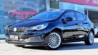 2018 Holden Astra BK MY18.5 R Black 6 Speed Sports Automatic Hatchback.