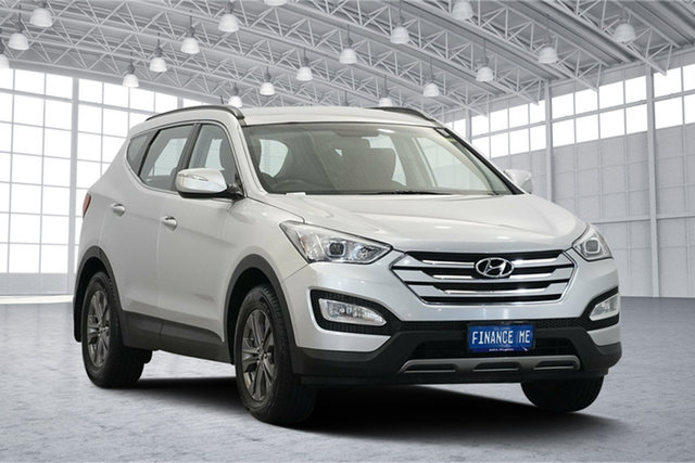 Used Hyundai Santa Fe DM MY13 Active, 2012 Hyundai Santa Fe DM MY13 Active Silver 6 Speed Sports Automatic Wagon