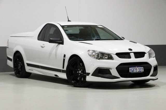 Used Holden Special Vehicles Maloo Gen-F2 R8 SV Black LS3, 2016 Holden Special Vehicles Maloo Gen-F2 R8 SV Black LS3 White 6 Speed Auto Active Select Utility