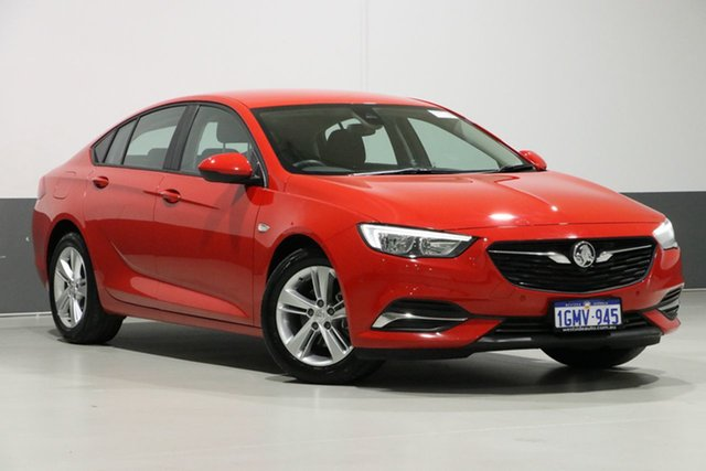 Used Holden Commodore ZB LT, 2018 Holden Commodore ZB LT Red 9 Speed Automatic Liftback
