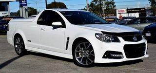 2015 Holden Ute VF MY15 SS V Ute White 6 Speed Manual Utility
