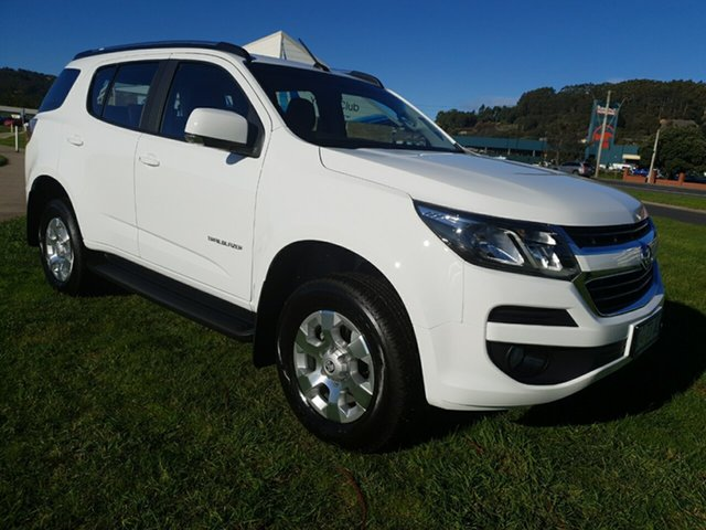 Demo Holden Trailblazer RG MY19 LT, 2019 Holden Trailblazer RG MY19 LT Summit White 6 Speed Sports Automatic Wagon