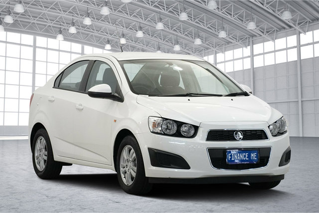 Used Holden Barina TM MY14 CD, 2014 Holden Barina TM MY14 CD White 6 Speed Automatic Sedan