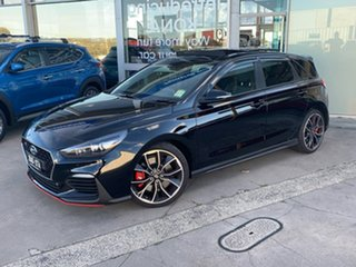 2018 Hyundai i30 PDe.2 MY19 N Performance Phantom Black 6 Speed Manual Hatchback.