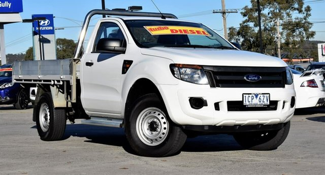 Used Ford Ranger PX XL Super Cab, 2014 Ford Ranger PX XL Super Cab White 6 Speed Manual Cab Chassis