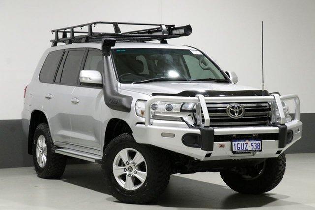 Used Toyota Landcruiser VDJ200R MY16 GXL (4x4), 2016 Toyota Landcruiser VDJ200R MY16 GXL (4x4) Silver 6 Speed Automatic Wagon