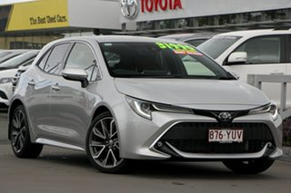 2018 Toyota Corolla ZRE182R ZR S-CVT Silver Pearl 7 Speed Constant Variable Hatchback.