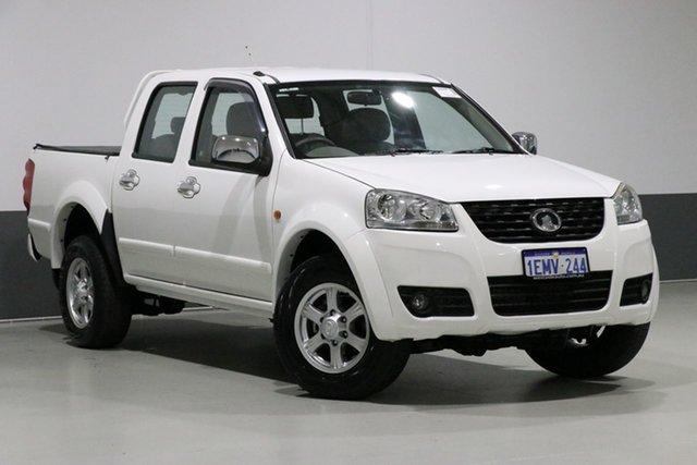 Used Great Wall V240 K2 MY11 (4x2), 2014 Great Wall V240 K2 MY11 (4x2) White 5 Speed Manual Dual Cab Utility