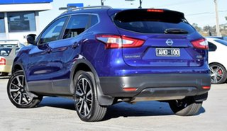 2016 Nissan Qashqai J11 TI Purple/Black 1 Speed Constant Variable Wagon