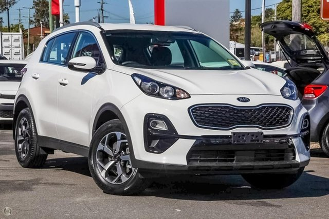 New Kia Sportage QL MY19 Si 2WD, 2019 Kia Sportage QL MY19 Si 2WD Clear White 6 Speed Sports Automatic Wagon