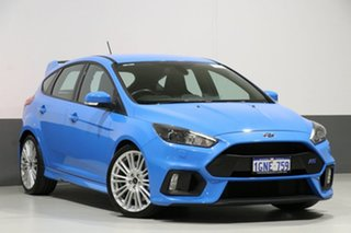 2017 Ford Focus LZ RS Blue 6 Speed Manual Hatchback.
