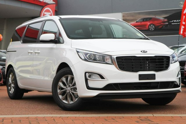New Kia Carnival YP MY19 SI, 2019 Kia Carnival YP MY19 SI Clear White 8 Speed Sports Automatic Wagon