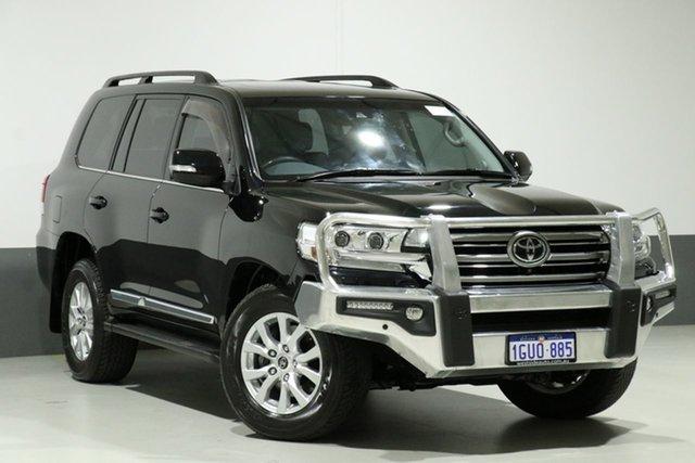 Used Toyota Landcruiser VDJ200R MY16 Sahara (4x4), 2016 Toyota Landcruiser VDJ200R MY16 Sahara (4x4) Black 6 Speed Automatic Wagon