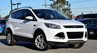 2015 Ford Kuga TF MY15 Trend AWD White 6 Speed Sports Automatic Wagon.