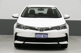 2017 Toyota Corolla ZRE172R Ascent White 7 Speed CVT Auto Sequential Sedan.