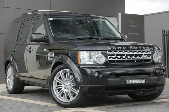 Used Land Rover Discovery 4 Series 4 MY11 SDV6 CommandShift HSE, 2011 Land Rover Discovery 4 Series 4 MY11 SDV6 CommandShift HSE Black 6 Speed Sports Automatic SUV