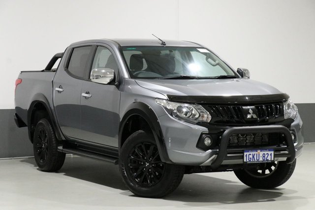 Used Mitsubishi Triton MQ MY17 GLS (4x4) Sports Edt, 2017 Mitsubishi Triton MQ MY17 GLS (4x4) Sports Edt Grey 5 Speed Automatic Dual Cab Utility
