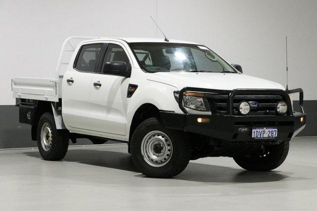 Used Ford Ranger PX XL 3.2 (4x4), 2011 Ford Ranger PX XL 3.2 (4x4) White 6 Speed Manual Dual Cab Utility