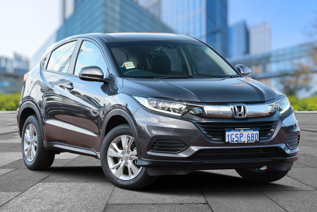 Demo Honda HR-V MY19 VTi, 2019 Honda HR-V MY19 VTi Modern Steel 1 Speed Constant Variable Hatchback