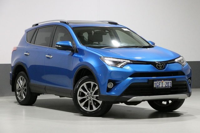 Used Toyota RAV4 ASA44R MY17 Cruiser (4x4), 2017 Toyota RAV4 ASA44R MY17 Cruiser (4x4) Blue 6 Speed Automatic Wagon