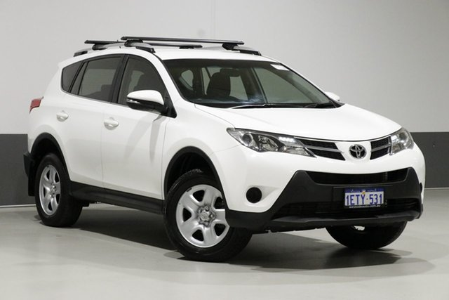 Used Toyota RAV4 ZSA42R MY14 Upgrade GX (2WD), 2015 Toyota RAV4 ZSA42R MY14 Upgrade GX (2WD) White Continuous Variable Wagon