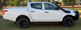 2016 Mitsubishi Triton MQ MY16 GLX+ Double Cab White 5 Speed Sports Automatic Utility.