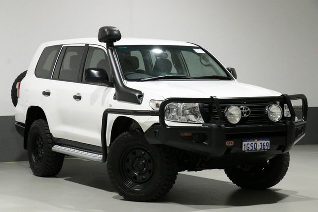 Used Toyota Landcruiser VDJ200R MY13 GX (4x4), 2015 Toyota Landcruiser VDJ200R MY13 GX (4x4) White 6 Speed Automatic Wagon