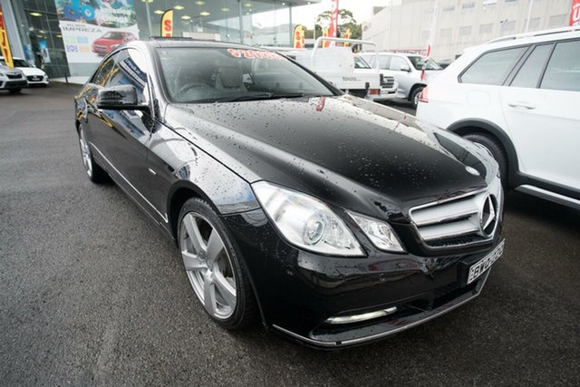 Used Mercedes-Benz E250 C207 MY12 BlueEFFICIENCY 7G-Tronic + Avantgarde, 2011 Mercedes-Benz E250 C207 MY12 BlueEFFICIENCY 7G-Tronic + Avantgarde Black 7 Speed