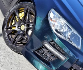 2013 Holden Special Vehicles GTS Gen-F MY14 Green 6 Speed Manual Sedan.