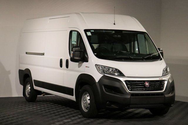 New Fiat Ducato Series 6 Mid Roof LWB Comfort-matic, 2019 Fiat Ducato Series 6 Mid Roof LWB Comfort-matic White 6 Speed Sports Automatic Single Clutch