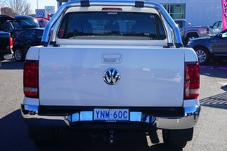 2016 Volkswagen Amarok 2H MY17 TDI550 4MOTION Perm Highline Candy White 8 Speed Automatic Utility