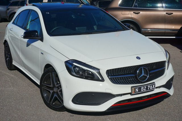 Used Mercedes-Benz A250 W176 807MY Sport D-CT 4MATIC, 2017 Mercedes-Benz A250 W176 807MY Sport D-CT 4MATIC White 7 Speed Sports Automatic Dual Clutch